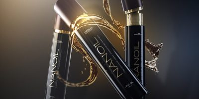 Haaröl Nanoil für die Haare mit geringer Porosität