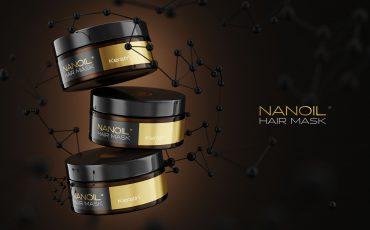 Haarmaske Aktivkohle Nanoil